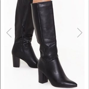 ISO Stay Groovy Heeled Knee-High Boots